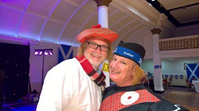Schottischer Abend_Uwe und Steve